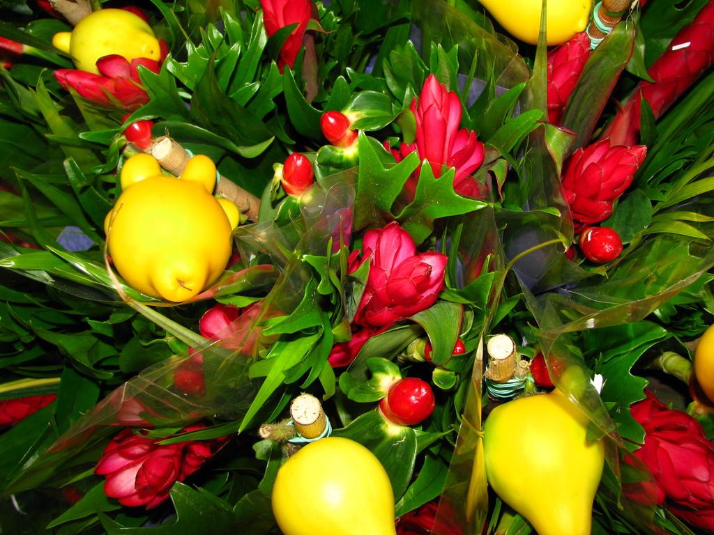 Bouquets de fleurs le monde en images for Bouquet de fleurs quebec