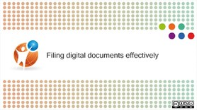 Filing digital documents effectively