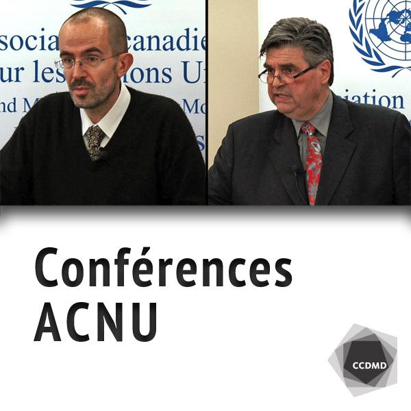 Conférences ACNU - Grand Montréal